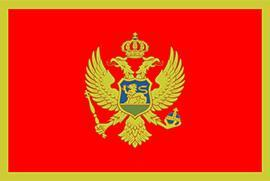 Flaga Czarnogóry