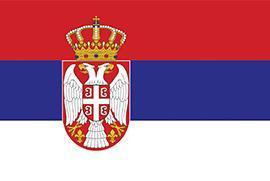 Flaga Serbi
